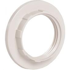 Кольцо к патрону E14, пластик, IEK [EKP20-01-02-K01] белый