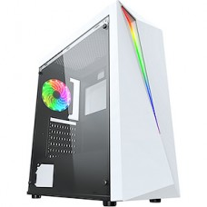 Корпус без б/п Formula V-LINE FLASH W белый ATX 3x120mm 2xUSB2.0 1xUSB3.0 audio bott PSU