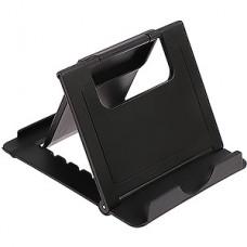 Подставка для телефона, складная, регулируемая высота, LuazON [3916085] черная