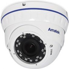 Камера Amatek AC-IDV203VA v2, купол, 3MP[2.8-12мм]SONY SV 1/2.8